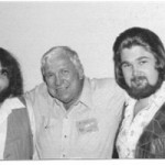 DLC and Slim Pickens and Perry Colt Gipson at Wooden Nickel Saloon EL PASO in early 1982